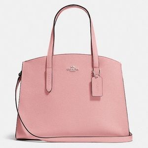 Brand new Coach Charlie Carryall in Peony